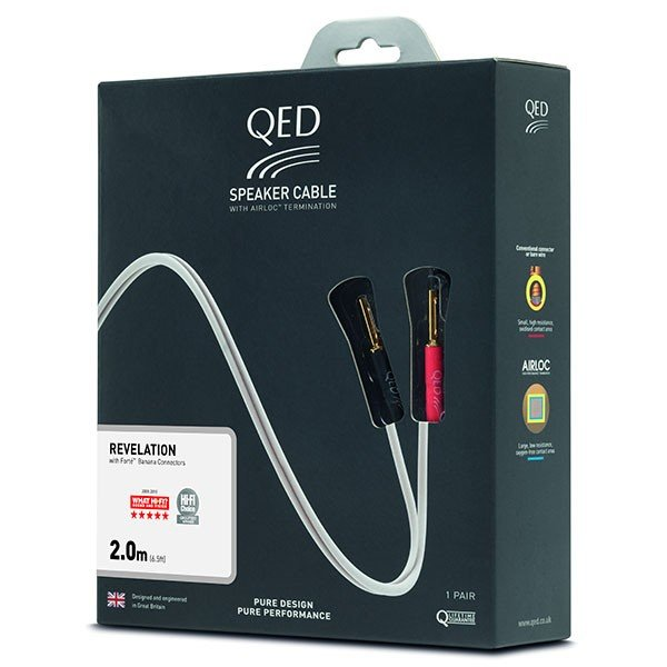 QED REVELATION PRE-TERM SPEAKER CABLE 3M