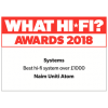 What Hi-Fi? 2018 Awards | Uniti Atom | Best Hi-Fi System Over £1000.