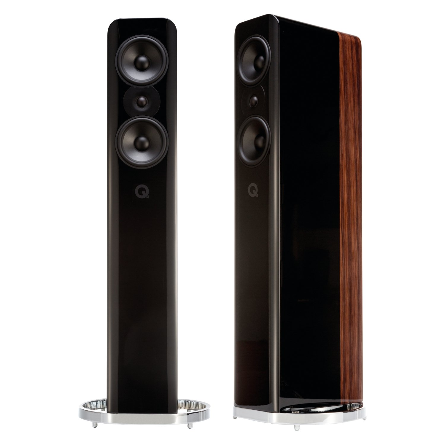Q Acoustics Concept 500 black/walnut – USADAS